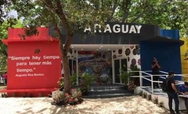 Pabellon Paraguay